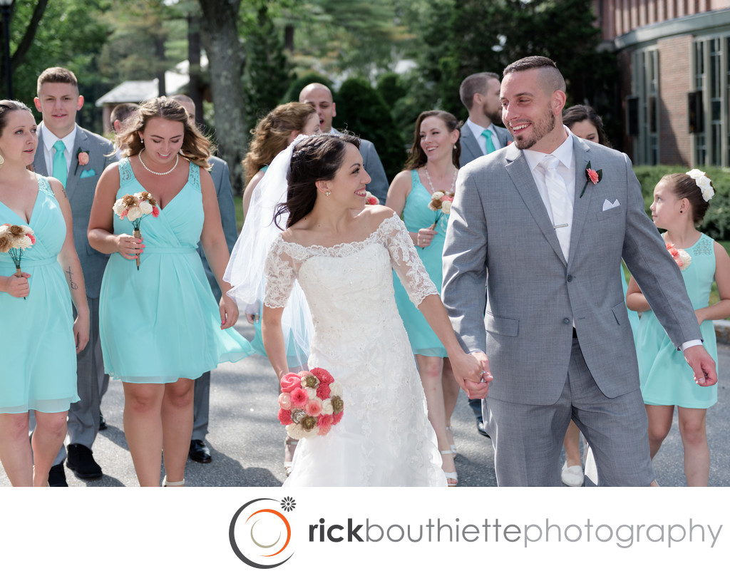 New Hampshires Saint Anselm Abbey Wedding