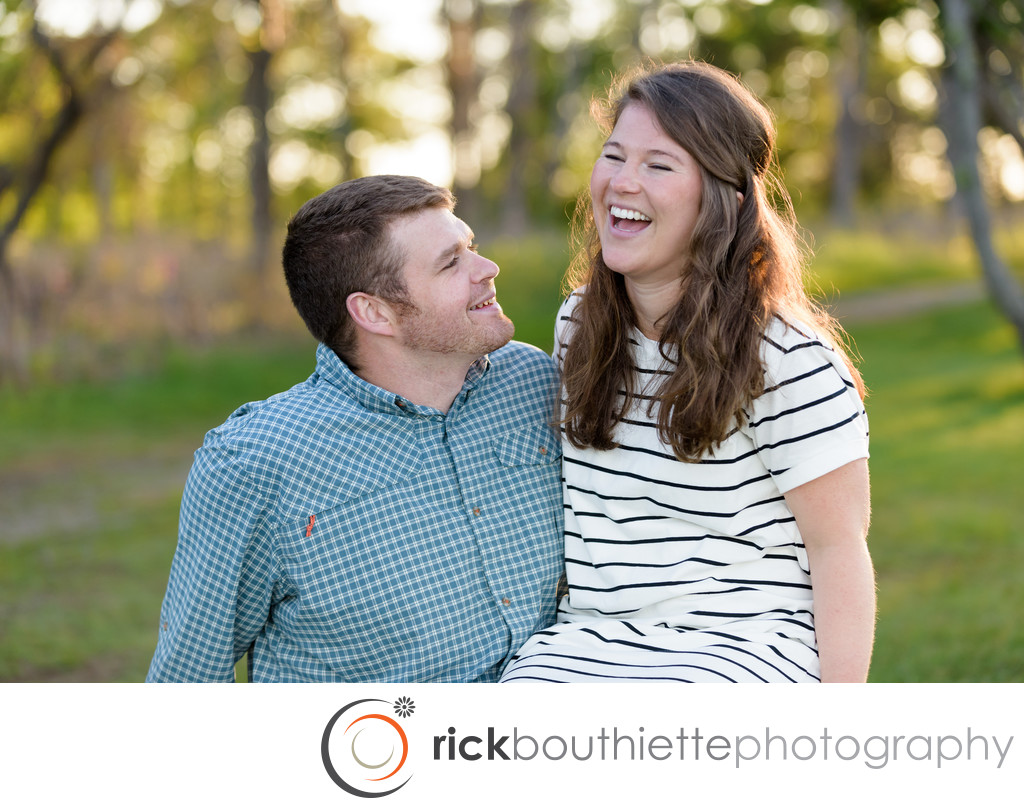 Seacoast Engagement Session - Rye, NH