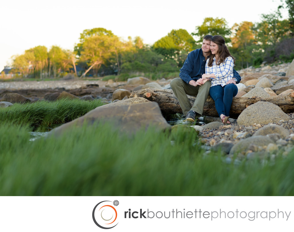 Engagement session at Ordiorne Point