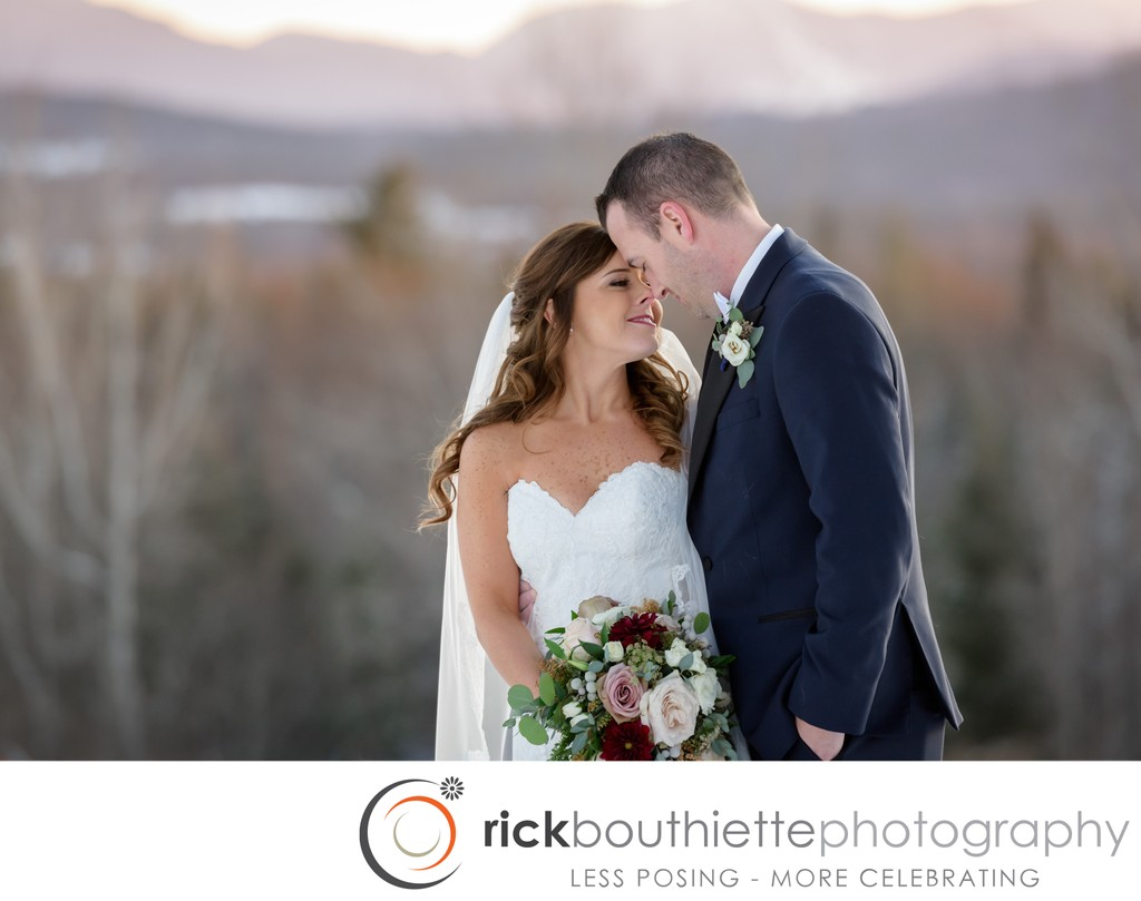 Winter Wedding At The Mountain View Grand Resort