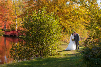 INDIAN HEAD RESORT FALL WEDDING IN THE WHITE MOUNTAINS