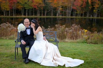 FALL WEDDING AT THE INDIAN HEAD RESORT