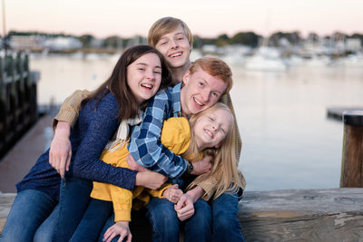 Modern Family Photography On The Seacoast