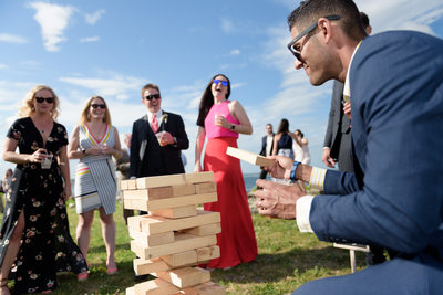 Seacoast Science Center Wedding Lawn Games
