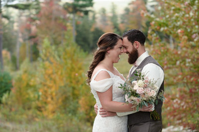 Wedding At New Hampshire's Ragged Mountain Resort