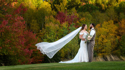 Beautiful Fall Wedding At Ragged Mountain Resort
