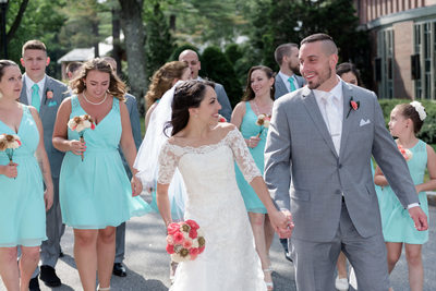New Hampshire's Saint Anselm Abbey Wedding