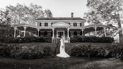 New Hampshire's Thompson Inn Wedding