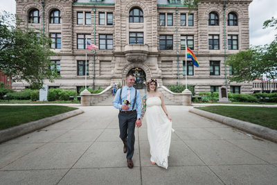 Happily Married At Lowell City Hall