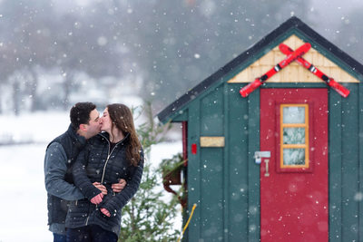 Love On The Lake - Winnipesaukee Engagement Session