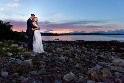 Seacoast Science Center Sunset Wedding
