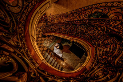 Stairwell photo at Seasons Catering