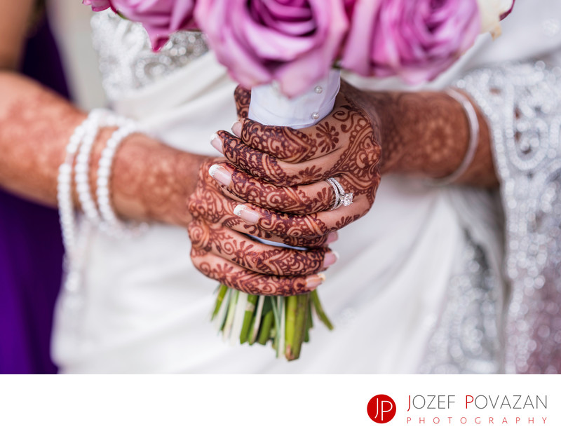Vancouver Indian wedding photographer Mehndi henna art