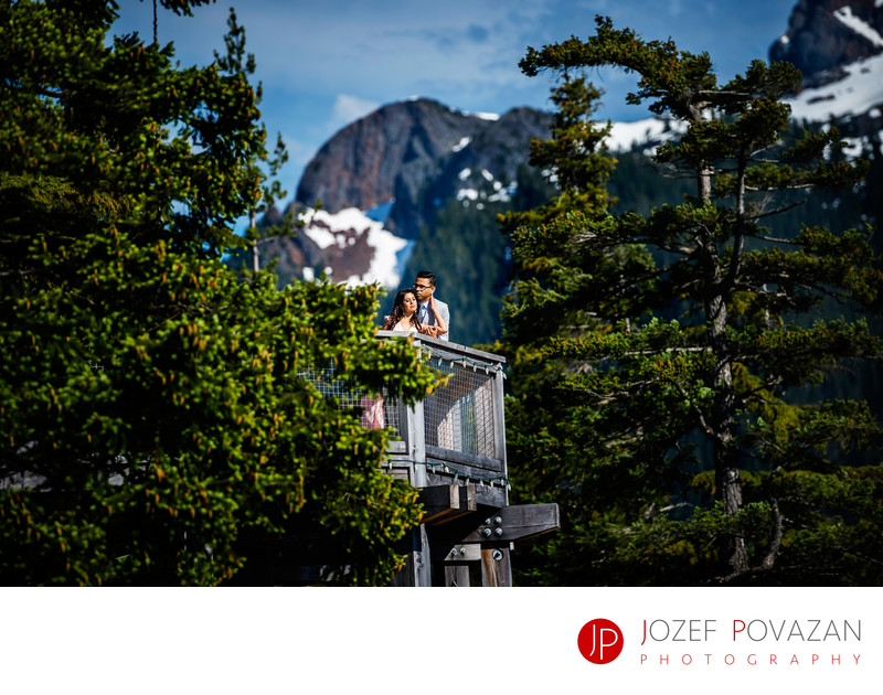 Sea to Sky Gondola pre wedding epic scenic portraits