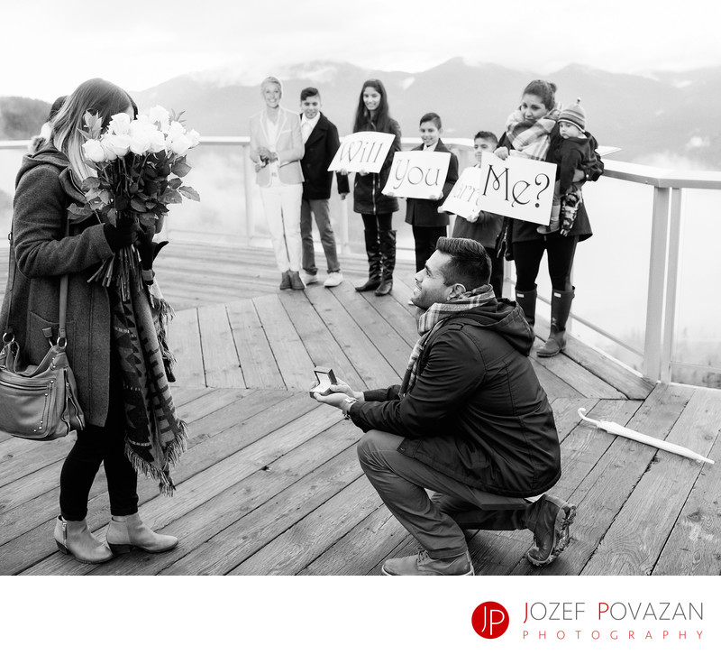 Will You Marry Me Sea to Sky Gondola secret proposal