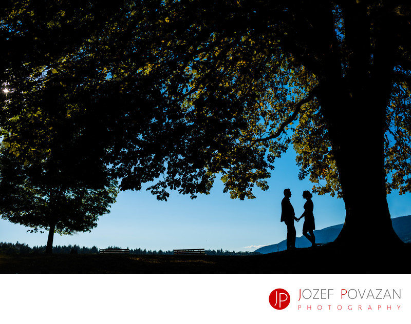 Creative Stanley park Engagement Wedding Photography
