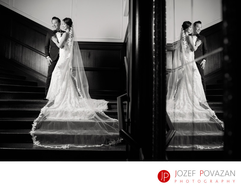 Hotel Georgia Wedding Photographer Artist Jozef Povazan