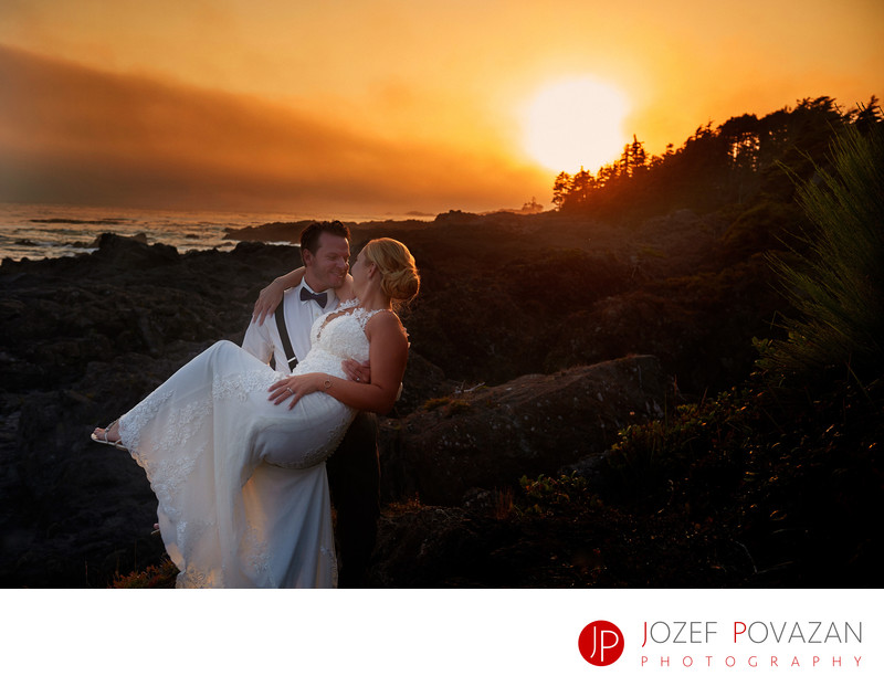 Black Rock Resort Wedding Photographer Ucluelet