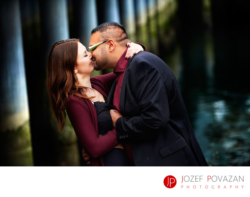 Deeply in love Vancouver Lifestyle Engagement pictures