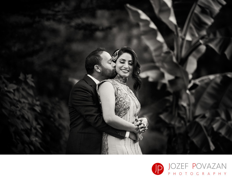 Surrey Indian Wedding Photographer Engagement Portraits