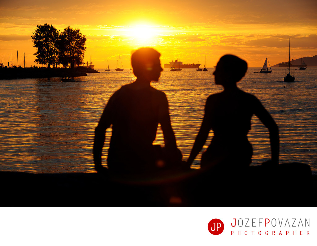 Vancouver Engagement photography locations Sunset beach