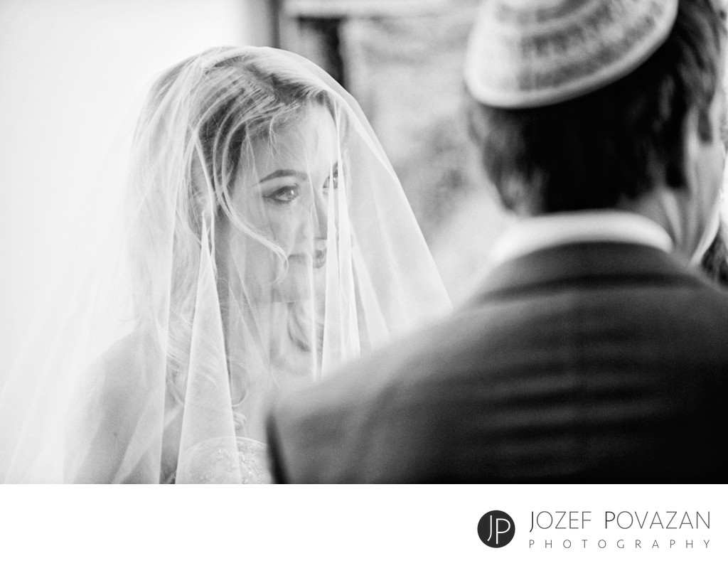 Vancouver Jewish synagogue wedding signing of Ketubah