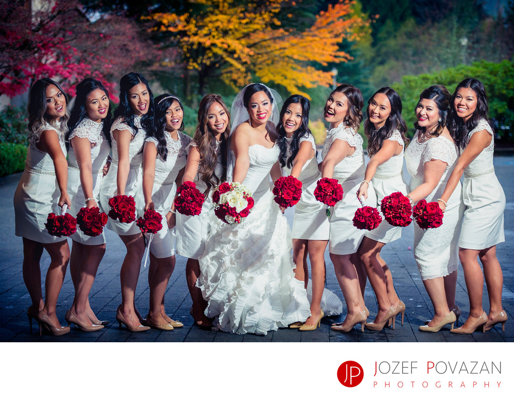 Filipino wedding pics by Vancouver wedding photographer