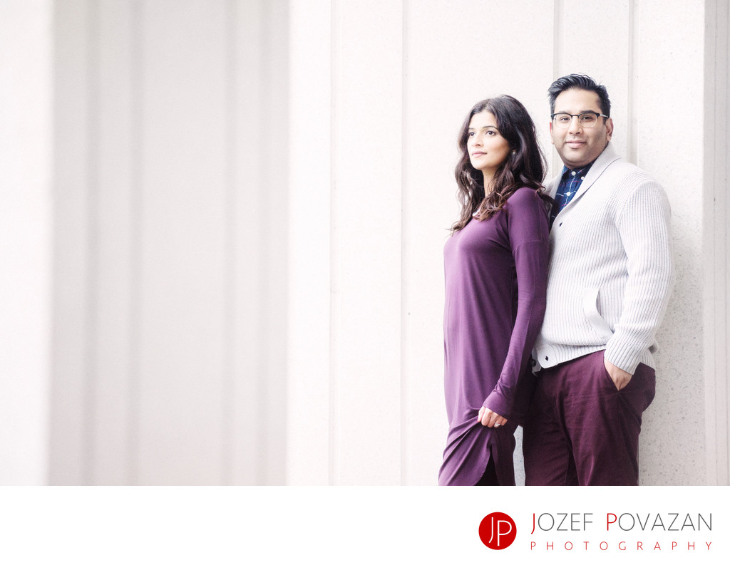 Pan Pacific Vancouver Engagement lifestyle portraits