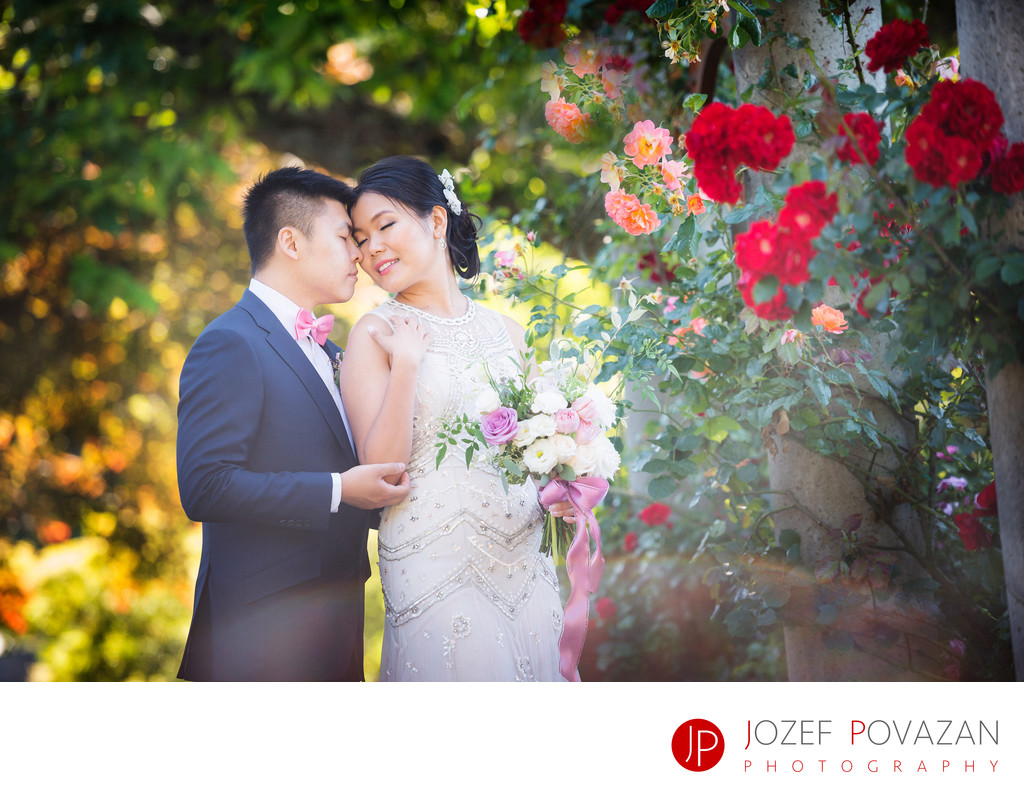 UBC Rose Gardens Wedding Photographer Jozef Povazan
