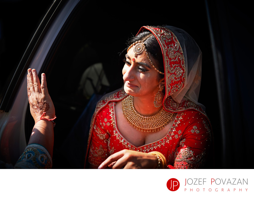 Sikh wedding traditions Bride leaving house Vancouver