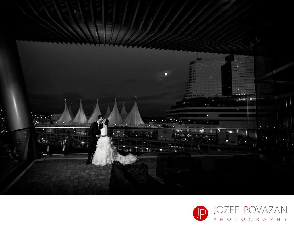 Convention centre Vancouver wedding photographers