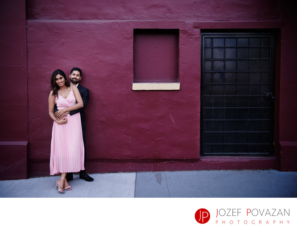 New Westminster Engagement Photography Back lanes pics