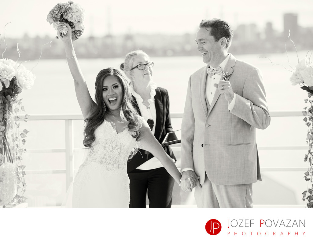 Pinnacle at the pier Vancouver wedding photographers