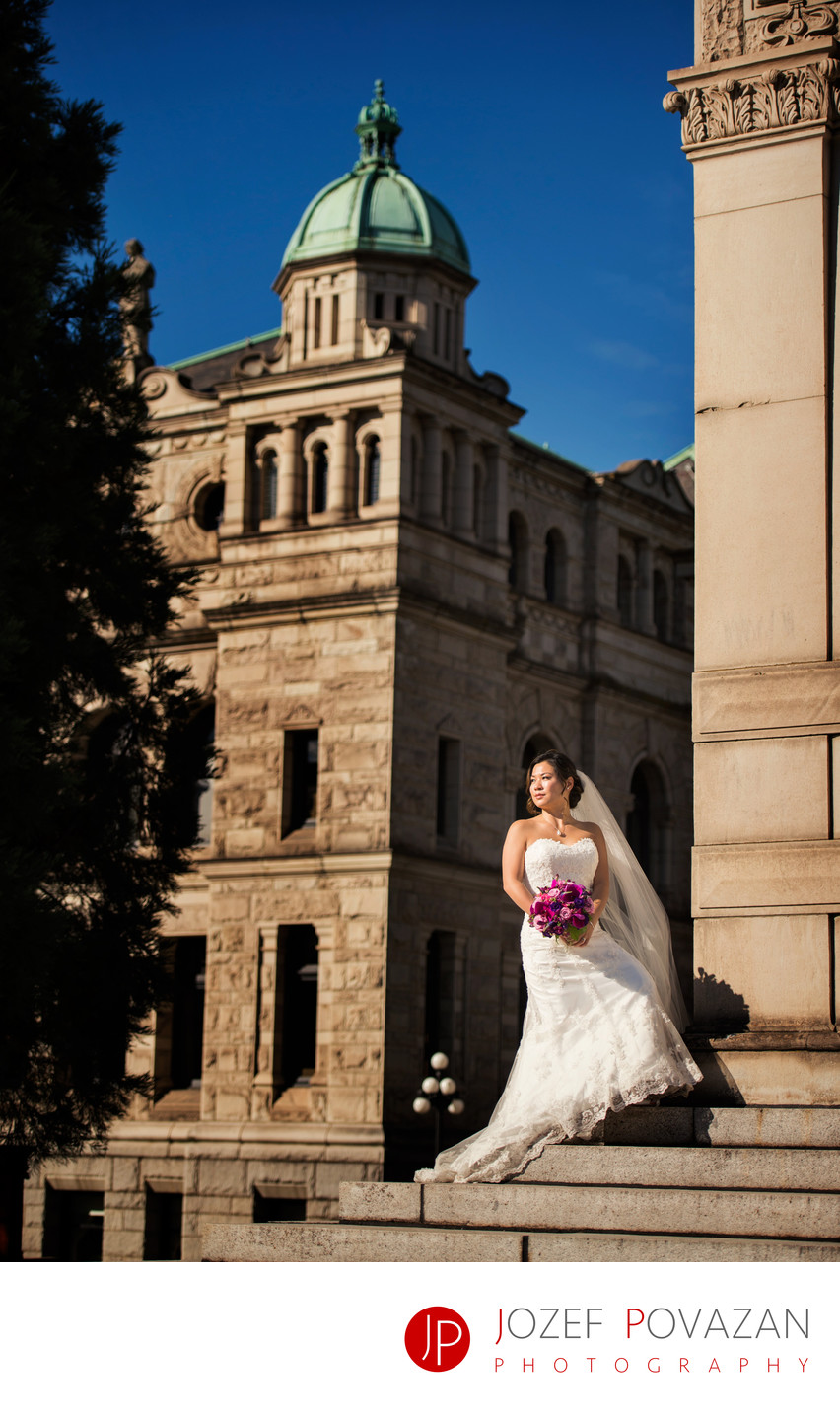 Top Parliament Building Victoria Wedding Photographers