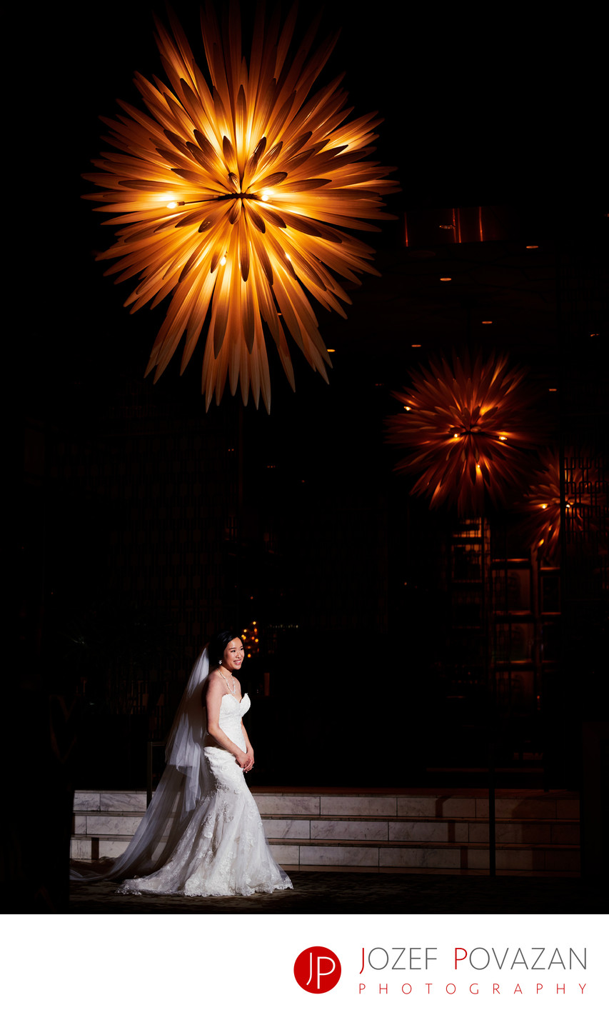 Hotel Vancouver Fairmont Wedding Photographer Bride