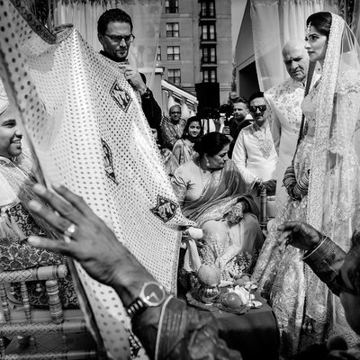Indian Hindu Mandap Wedding Ceremony Photography
