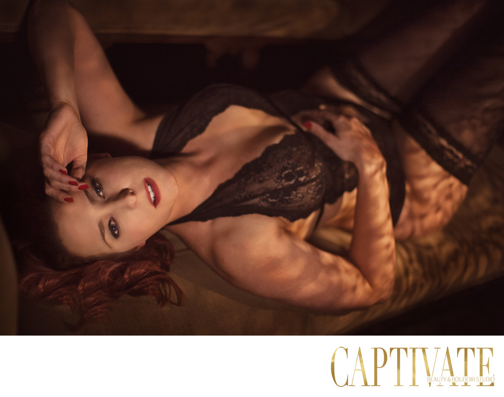 Hollywood Glamour Boudoir Photography