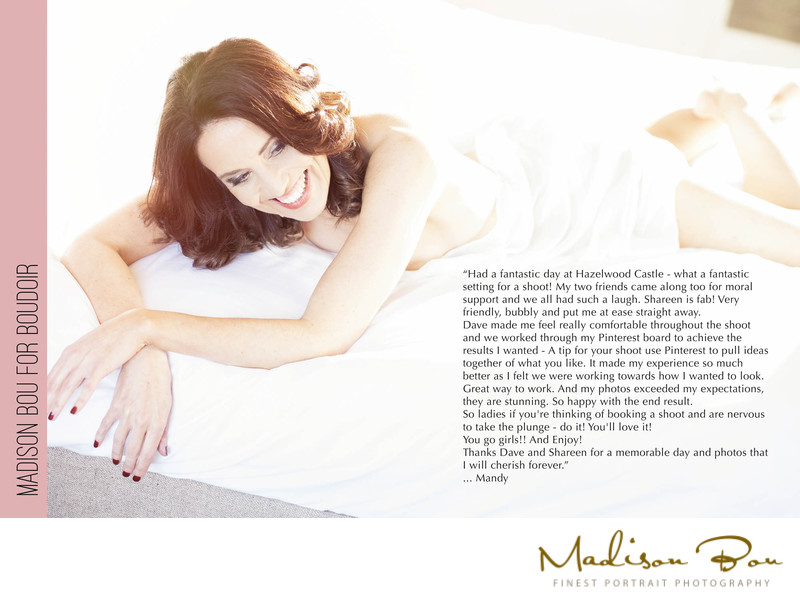 York boudoir photographers - mandy endorsement
