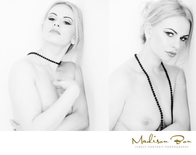 york boudoir photographers - black and white