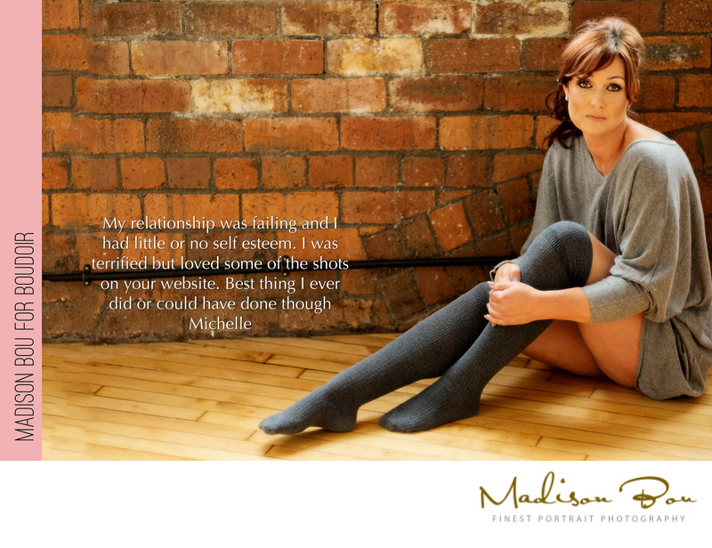york boudoir photographers - michelle's endorsement