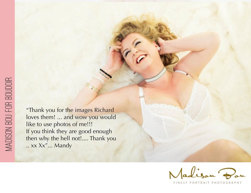 York boudoir photographers - mandy