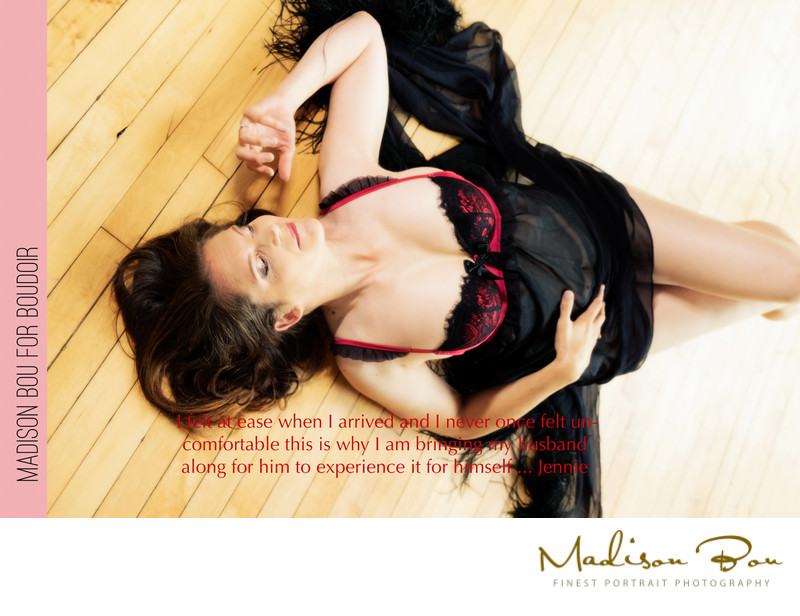 york boudoir photographers - jennie endorsement