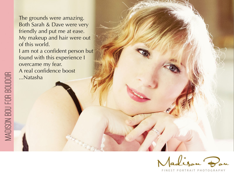 York boudoir photographers - natasha endorsement