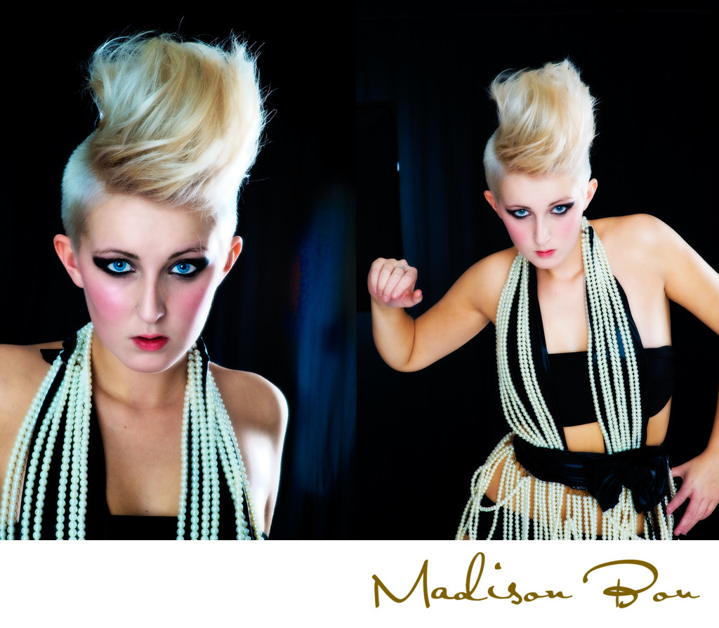 Leeds fashion photographers - hair yazz