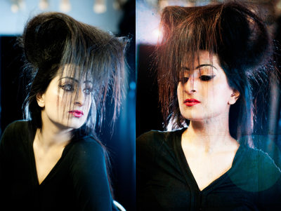 Leeds fashion photographers - hair light