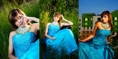 Leeds fashion photographers - tryptic