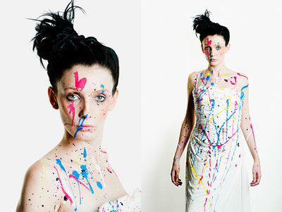 leeds fashion photographers - painted bride