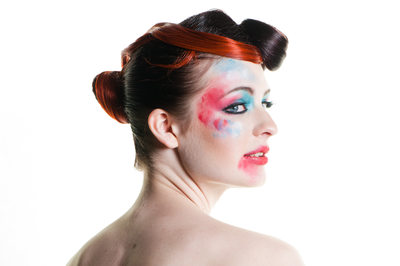 leeds fashion photographers - painted face