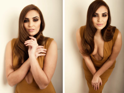 leeds fashion photographers - brown dress