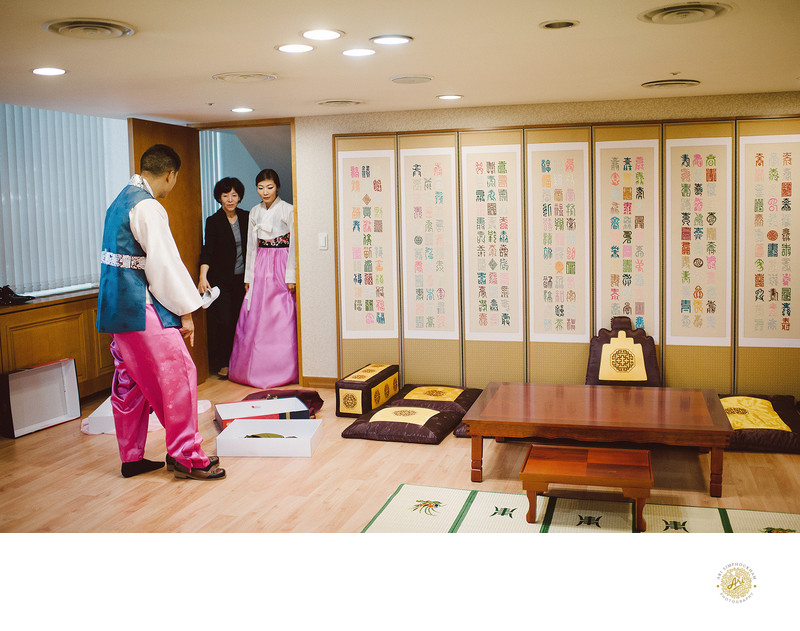 Traditional Korean Wedding Photography